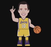 Caricatura de Steve Nash, guard de los Los Angeles Lakers by D4RK0