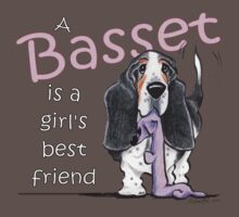 Basset Girls Best Friend by offleashart