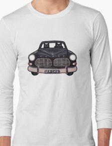 Black Volvo Cats Long Sleeve T-Shirt