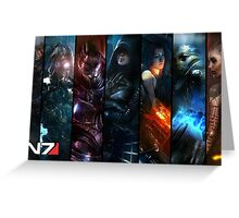 N7 Veteran Greeting Card