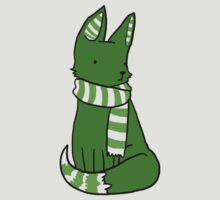 Housefox of Slytherin by teecup