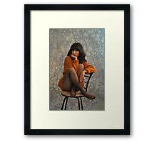 """"""" Sweater Girl """" Framed Print"""