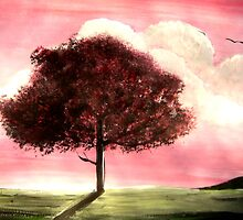 'Cherry Tree' by jansimpressions