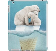 polar ice cream cap 02 iPad Case/Skin