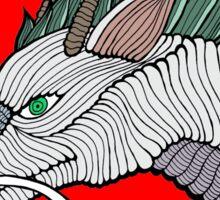 Haku Dragon Doodle Sticker