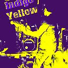 Indigo Yellow Band Poster - I&Y by mps2000