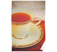 Melissa Tea Set Poster