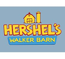 Hershel's Walker Barn Photographic Print