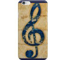 Treble Clef iPhone Case/Skin