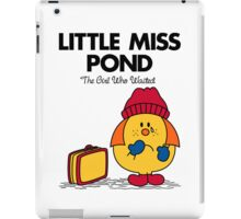 Little Miss Pond iPad Case/Skin