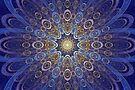 Glowing Flower by Sandy Keeton