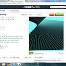 Javascript program/storm -(100313)- Digital screenprint by paulramnora