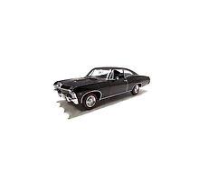 Supernatural - Dean's Car by Elizabeth Coats