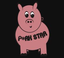 Pork Star T-Shirt Kids Clothes