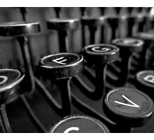 Typewriter Keys by drewkrispies