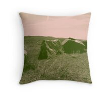 1960's Look Throw Pillow