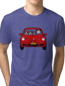 Skellie Cats Road Trip Tri-blend T-Shirt