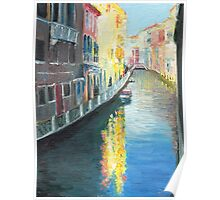 Venice Canal in Afternoon Sunshine Poster