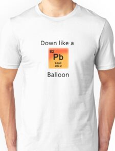 Quotes with Periodic Elements Pb Unisex T-Shirt