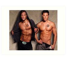 Supernatural - Sam & Dean Art Print