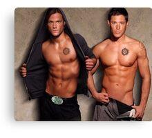 Supernatural - Sam & Dean Canvas Print