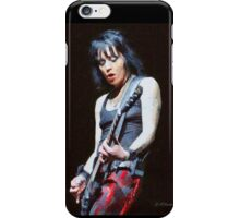 Joan Jett iPhone Case/Skin