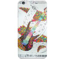 guitar mashup iPhone Case/Skin