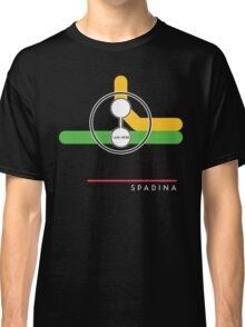 Spadina station (on Bloor-Danforth line) Classic T-Shirt