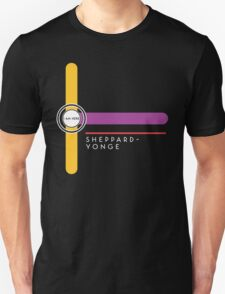 Sheppard-Yonge station Unisex T-Shirt