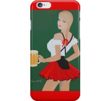 Beer wench iPhone Case/Skin