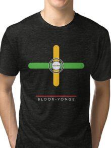 Bloor-Yonge station Tri-blend T-Shirt