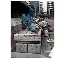 aotea square at lunch Poster