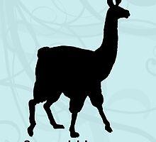 Social Llama by Jessica Becker