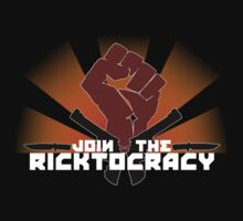 Join the Ricktocracy T-Shirt