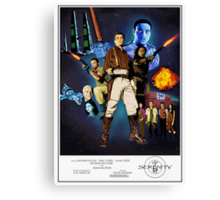 Serenity: The Alliance Strikes Back Canvas Print