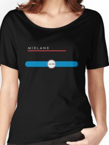 Midland station Women's Relaxed Fit T-Shirt