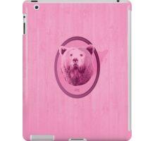 Hunting Series - The Pink Bear Head iPad Case/Skin