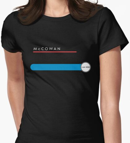 McCowan station Womens Fitted T-Shirt