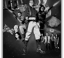 Serenity: The Alliance Strikes Back (black and white version) by imnotahero