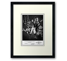 Serenity: The Alliance Strikes Back (black and white version) Framed Print
