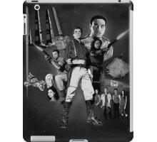 Serenity: The Alliance Strikes Back (black and white version) iPad Case/Skin