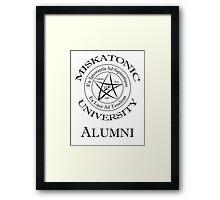 Miskatonic University - Alumni Framed Print