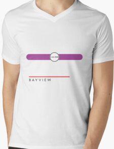 Bayview station Mens V-Neck T-Shirt