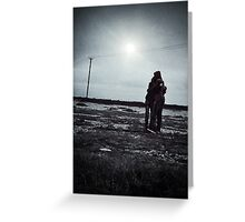 Last Embrace Greeting Card