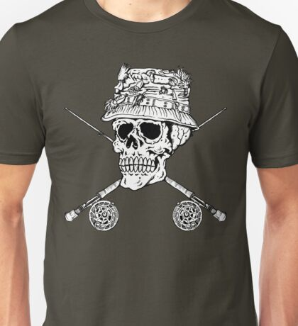 FIshermans Skull Unisex T-Shirt