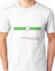 Old Mill station (west end, subsurface) Unisex T-Shirt