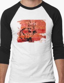 Sunset Cute Rabbit Men's Baseball ¾ T-Shirt