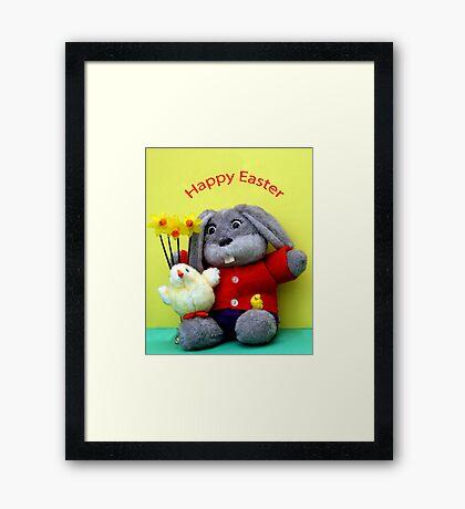 Easter Bunny! Framed Print