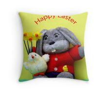 Easter Bunny! Throw Pillow