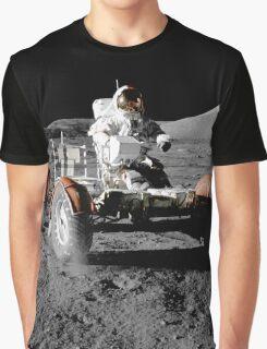Moon Buggy!  Apollo 17 Lunar Rover Graphic T-Shirt